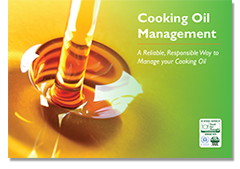 arrow cooking oil management brochure